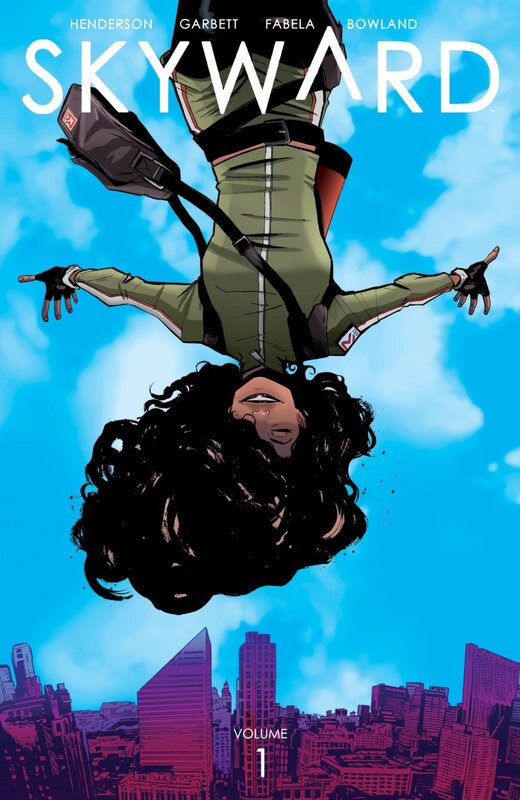 Image Comics : Skyward by Henderson & Garbett