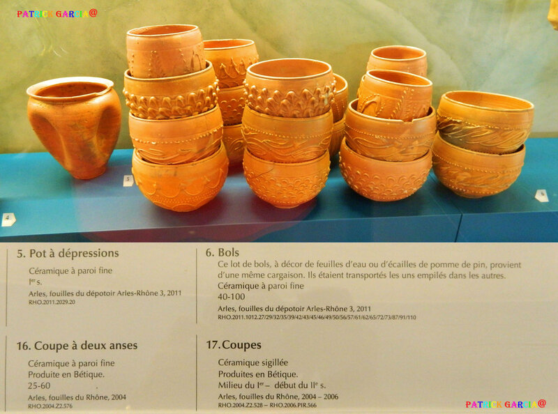 ARLES MUSEE POTS ET COUPES 287