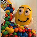 Gravity cake et pinata cake m&m's : 2 en un !!