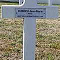 Dubreu jean marie (déols) + 03/11/1918 crépy-en-laonnais (02)