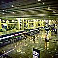 Dédale d'aéroport