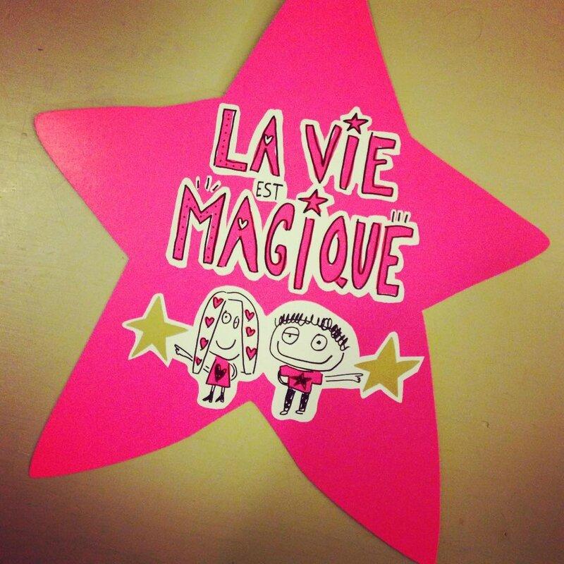 la vie magique étoile