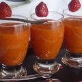 Smoothie fraise-mangue