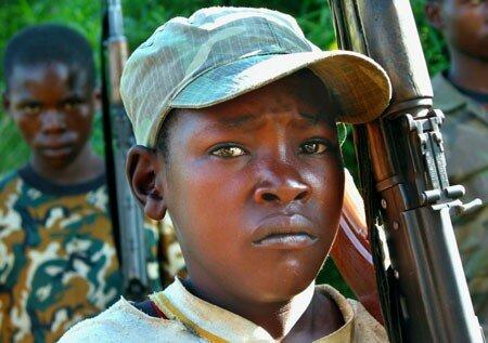 Enfant-soldat RDC