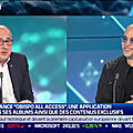 Pascal obispo invité de bfm business