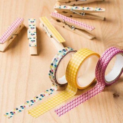 masking tape jardin vichy