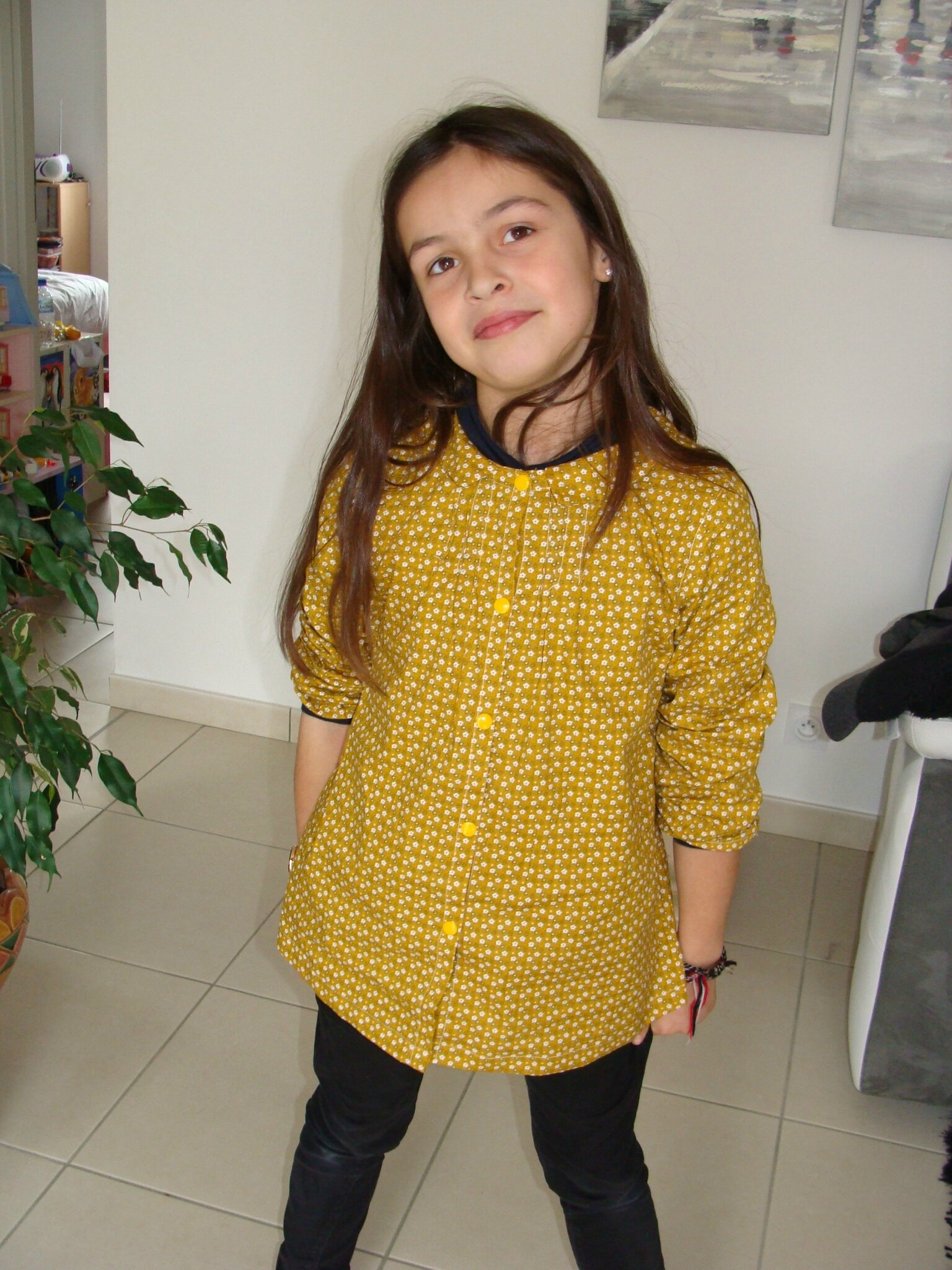 blouse roses and dots ottobre 1/2014