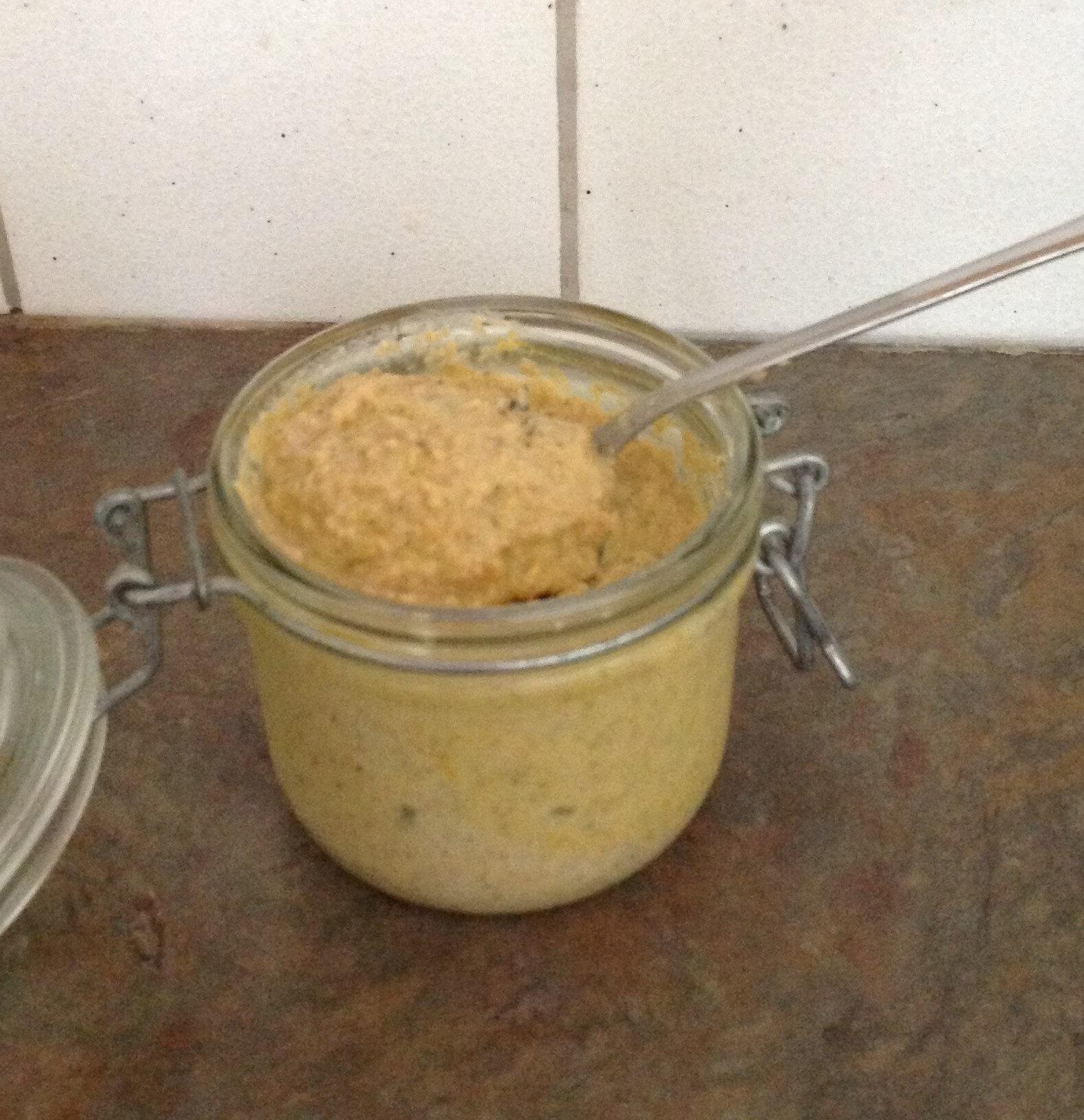 Moutarde forte au miel