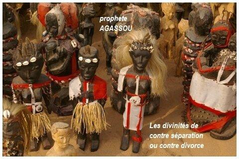 DIVINITES DE CONTRE RUPTURE DE COUPLE
