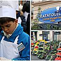 Ratatouille, l'attraction de disney qui cartonne & notre participation à la plus grande ratatouille du monde ! {chez remy}