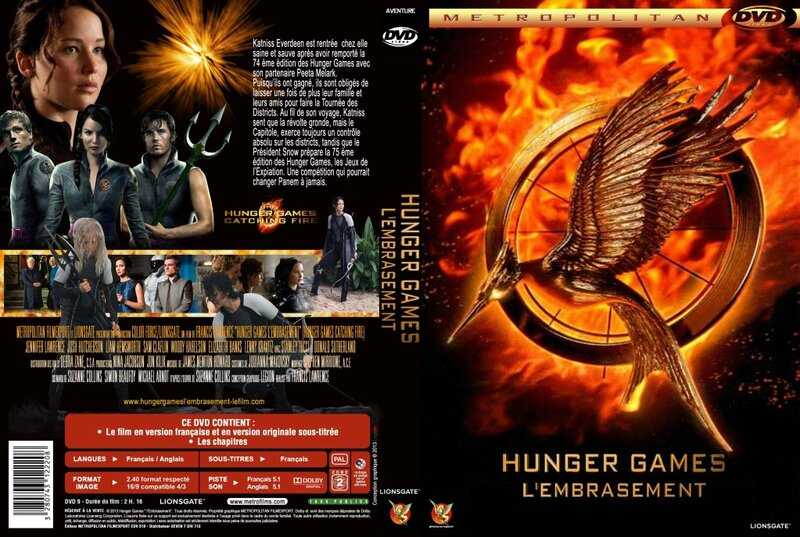 Jaquette Hunger Games 2