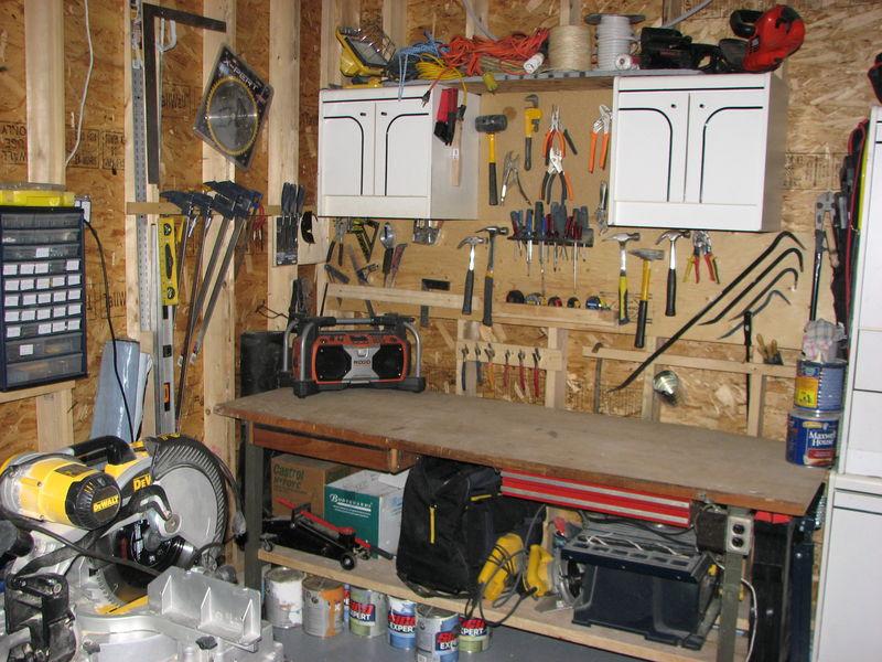 peinture garage 2 ieme parti travaux sous sol. Black Bedroom Furniture Sets. Home Design Ideas