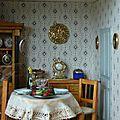 Case créole : salle à manger