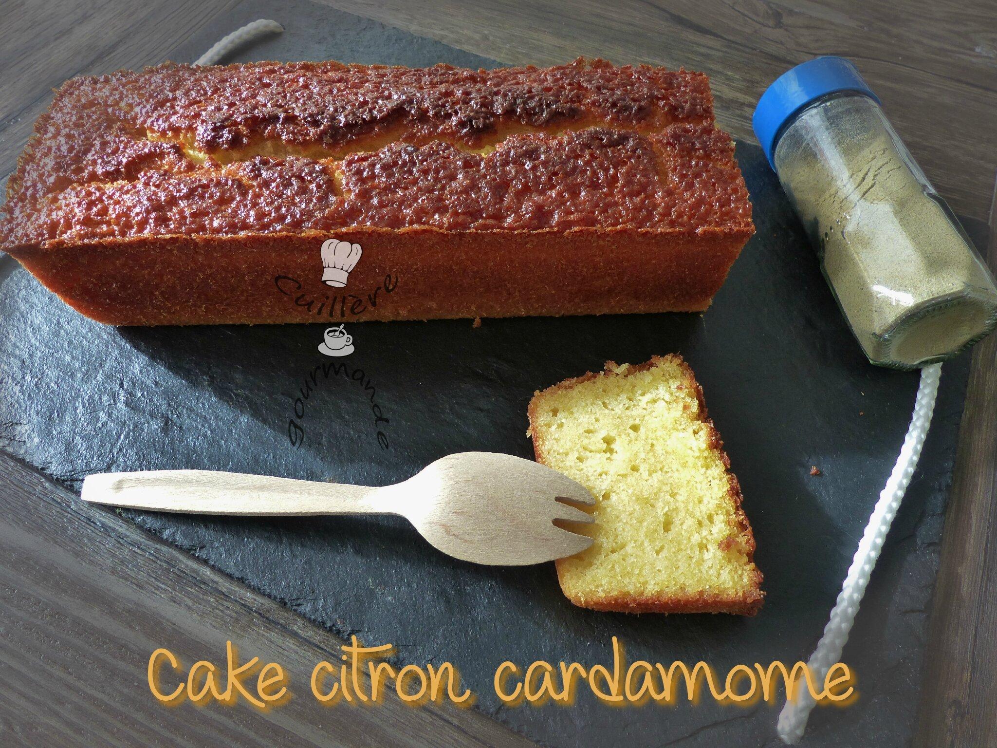cake au citron et cardamome