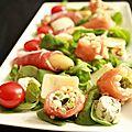 - salade terre et mer - pour faire revenir le soleil