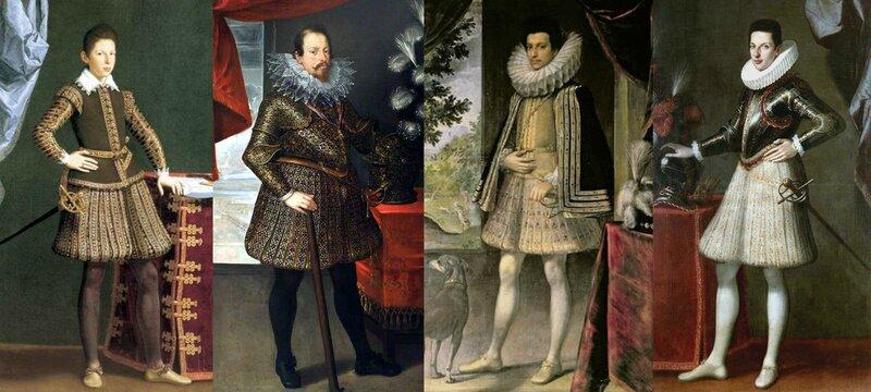 Portraits italiens, années 1603-1609