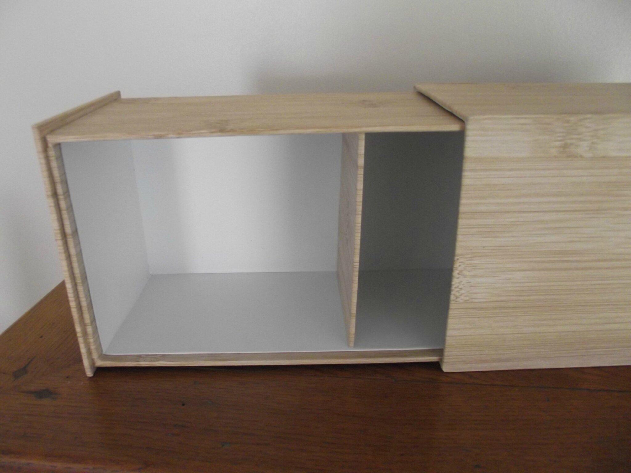 cartonnage tiroir intérieur
