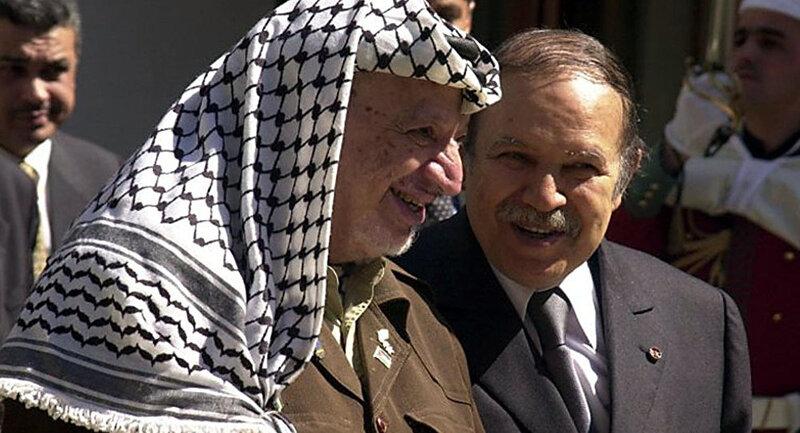 Arafat et Bouteflika