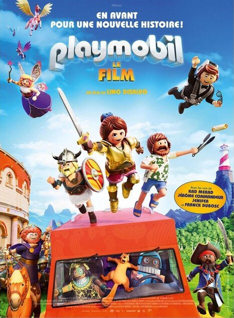 Affiche Playmobil le film 2