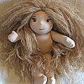 Lola, première poupée d'inspiration waldorf de la rentrée ! :)
