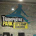Trampoline park à toulouse