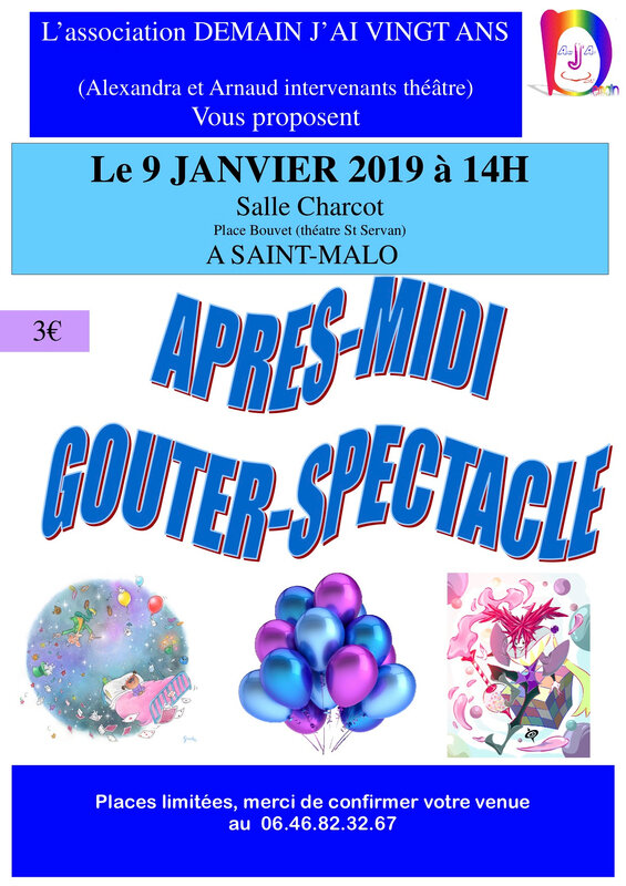 SPECTACLE GOUTER 2019