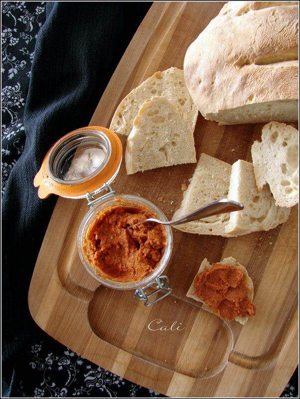 Tartinade de Tomates Séchées & Noix de Cajou, Façon Sobrassada 002