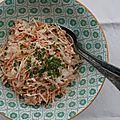 Coleslaw végétal au tofu soyeux