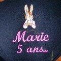 ANNIVERSAIRE DE MARIE DETAIL