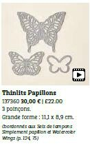 Thinlits Papillons
