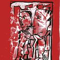 monotype sur rouge0015
