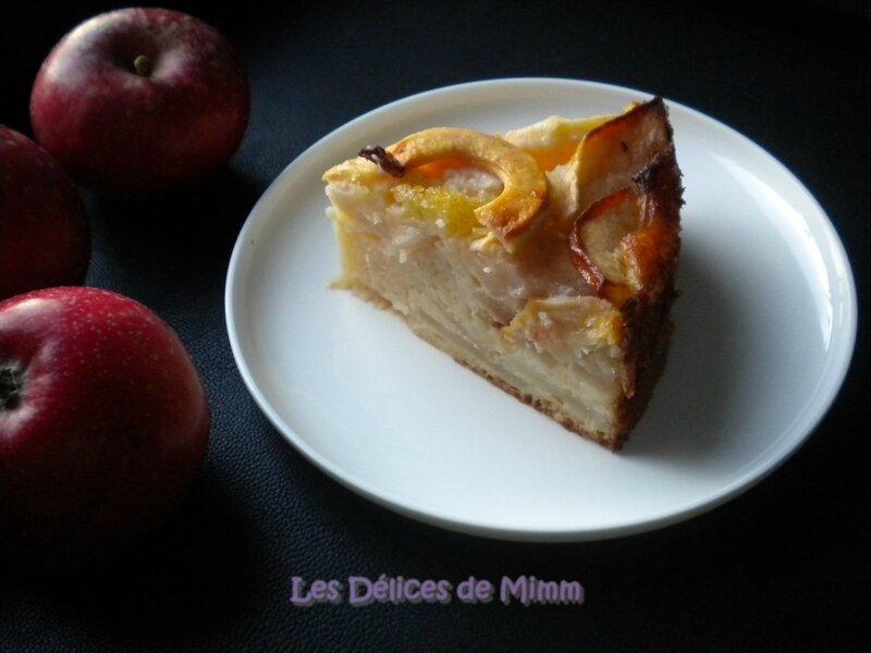 Gâteau-flan aux pommes 8