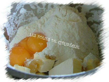 Bavarois cassis citron 1