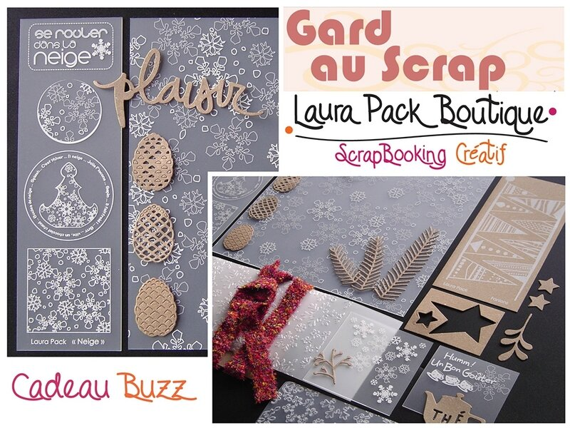 Visuel Cadeau Buzz Gard au Scrap Laura Pack
