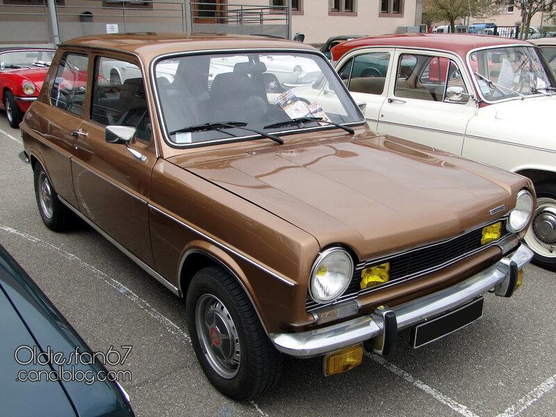 Simca 1100 Special 2 portes 1972-1974-01