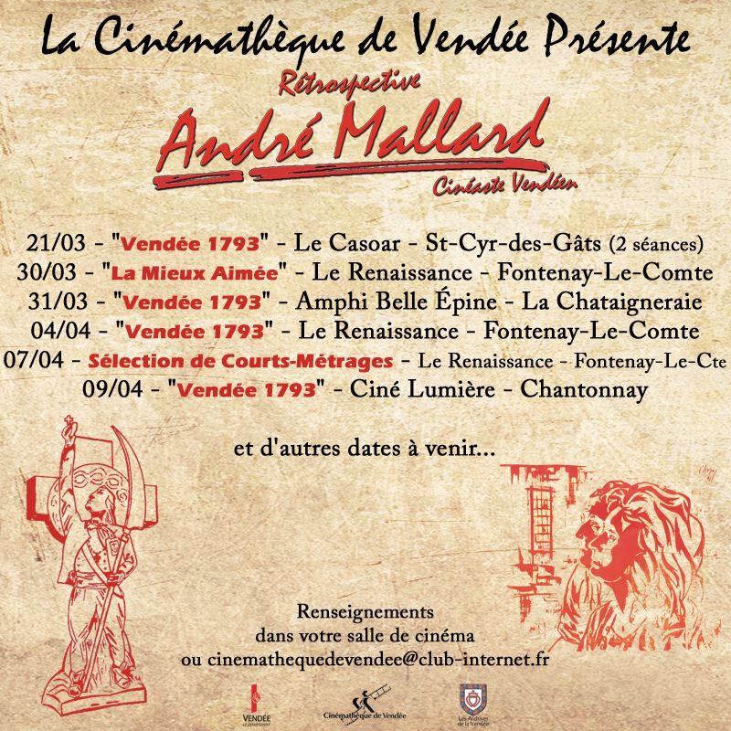 Projections de « Vendée 93 » et autres films d'André Mallard