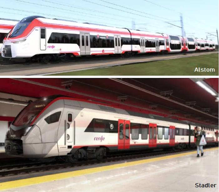 Alstom-Stadler-RENFE
