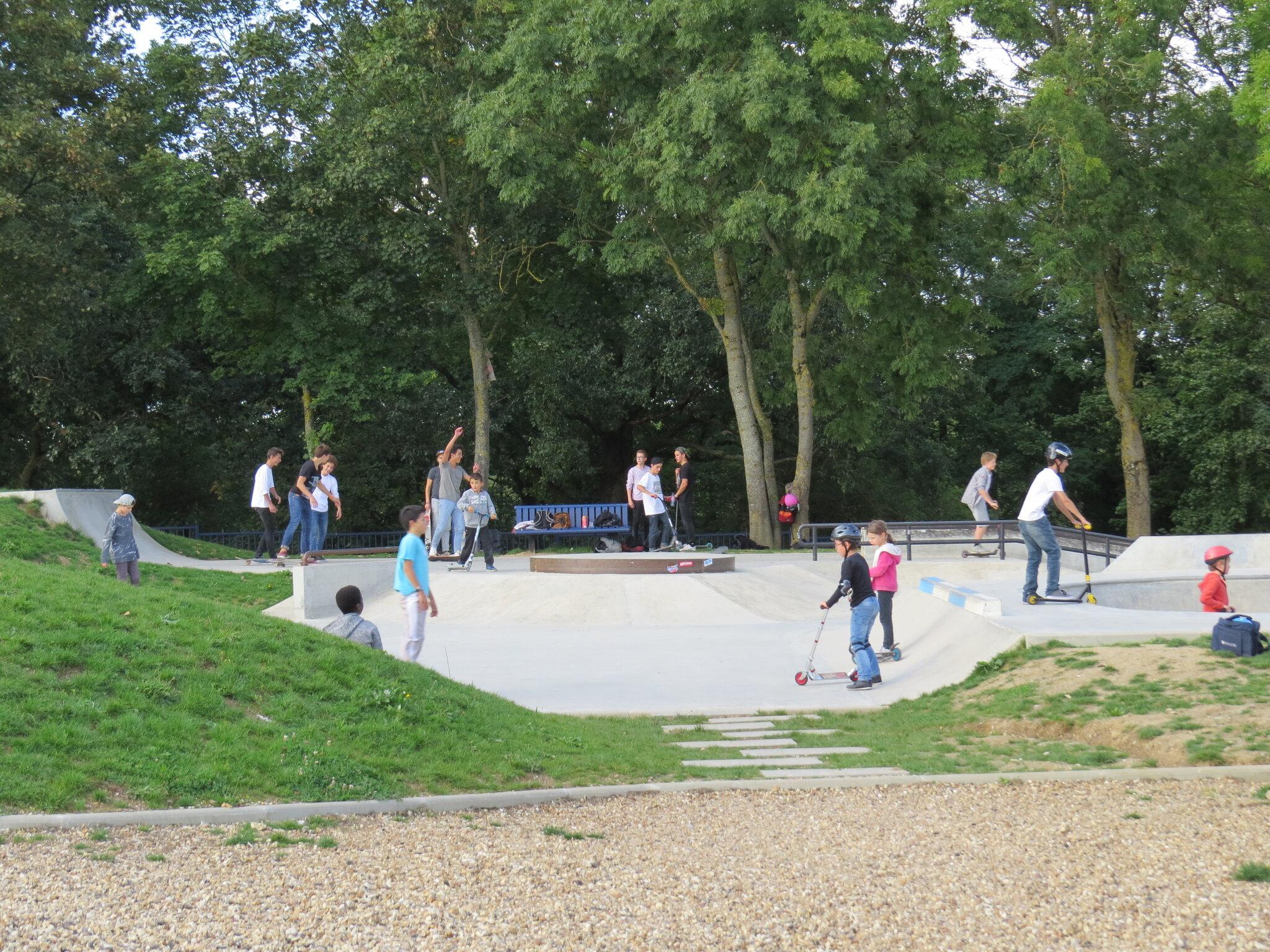 Skate park Plaine