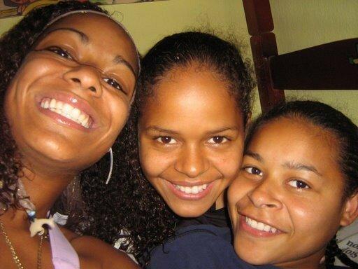 Erikinha, Fran et moi