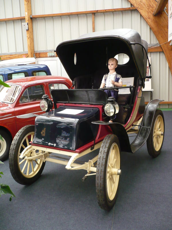 BAKER ELECTRIC Runabout 1909 Créhange (1)