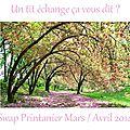 Swap printanier/pâques
