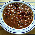 Frijoles con chile comme au far-west ou chili con carne western
