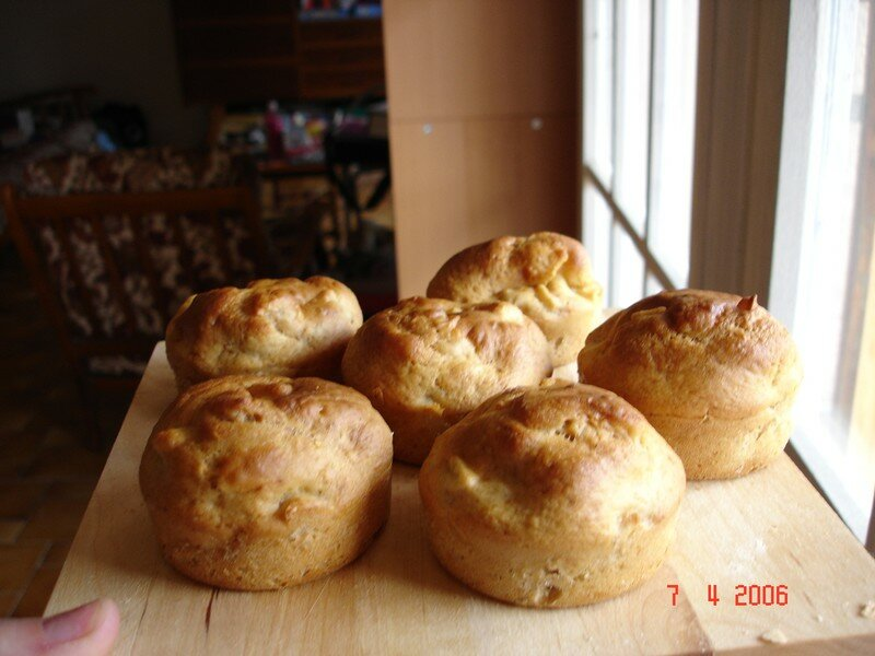 Muffins Pomme-Canelle