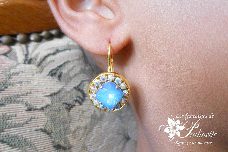 bijoux-mariage-soiree-temoin-cortege-boucles-d-oreilles-Aline-strass-et-cristal-bleu-star-shine-et-irise-4