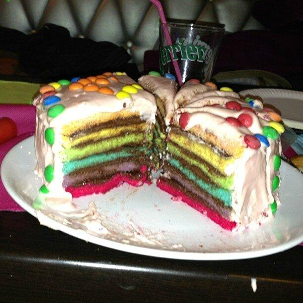 Rainbow cake d'Estelle
