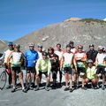 Le groupe en haut du Galibier