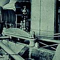 la motrice du Puits de marseille a vapeur