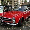 Mercedes benz 230 sl w113 roadster 1963-1967