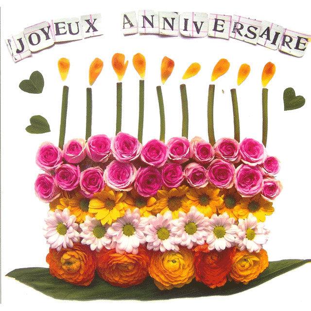 Bon Anniversaire Mamie Line In Blog
