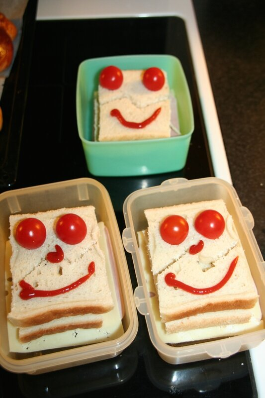 scary sandwiches